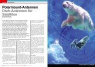 Polarmount-Antennen Dreh-Antennen für Satelliten - TELE-satellite ...