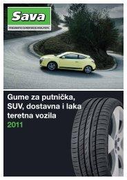 Sava Katalog guma 2011