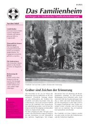 Familienheim 4/2007 - Katholische Familienheimbewegung eV