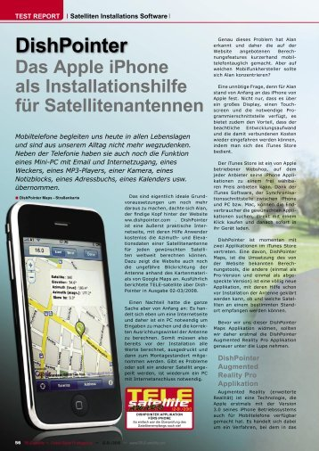 DishPointer - TELE-satellite International Magazine