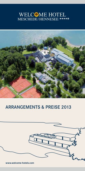 Arrangements & Preise - Welcome Hotels