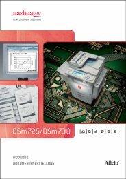DSm725/DSm730 - Nashuatec.de