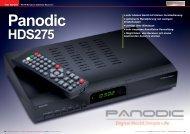 Panodic HDS275 - TELE-satellite International Magazine