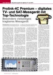 Prolink-4C Premium - TELE-satellite International Magazine