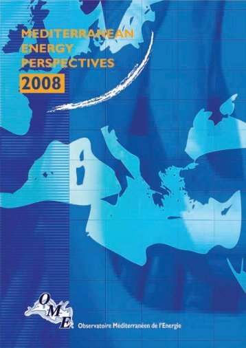 mediterranean energy perspectives 2008 - OME