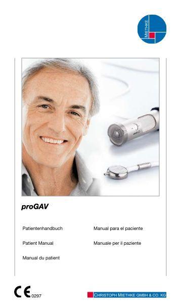 Manual du patient - Christoph Miethke GmbH & Co. KG