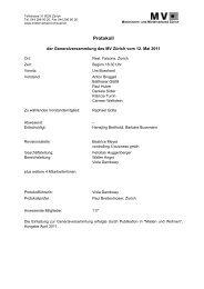protokoll gv mv 2011 - Mieterverband