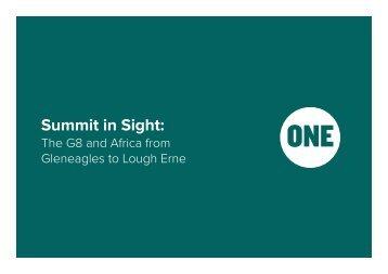 Summit in Sight: