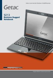 Business Rugged Notebook