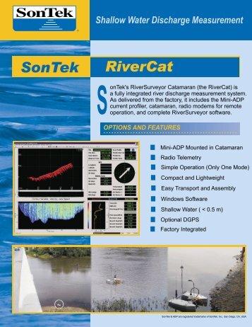SonTek/YSI RiverCat Brochure