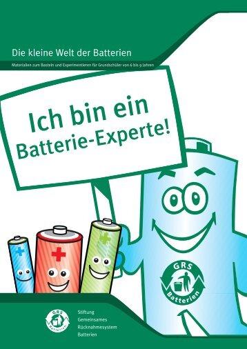 Die kleine Welt der Batterien - GRS-Batterien
