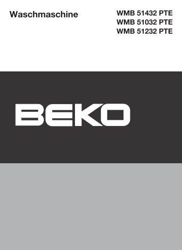 Waschmaschine - Beko