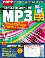 MP3 - zurück