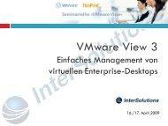 VMware View 3