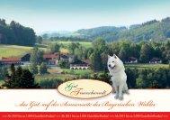 unser Prospekt 2013 als PDF zum Download - Gutshotel ...