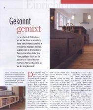 08 / 10 / 2009 Veröffentlichung des Wohnungsumbaus in der