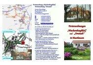 Hausprospekt - Ferienwohnung Mauersberger