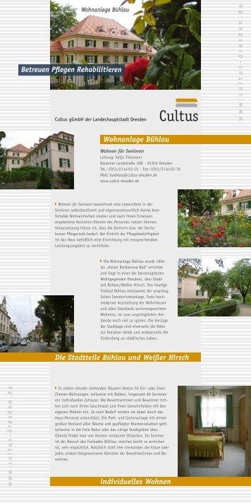 Wohnanlage Bühlau - Cultus gGmbH Dresden