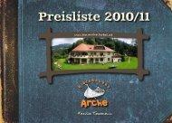 Preliste 2010/2011 - Hotelinfo.at