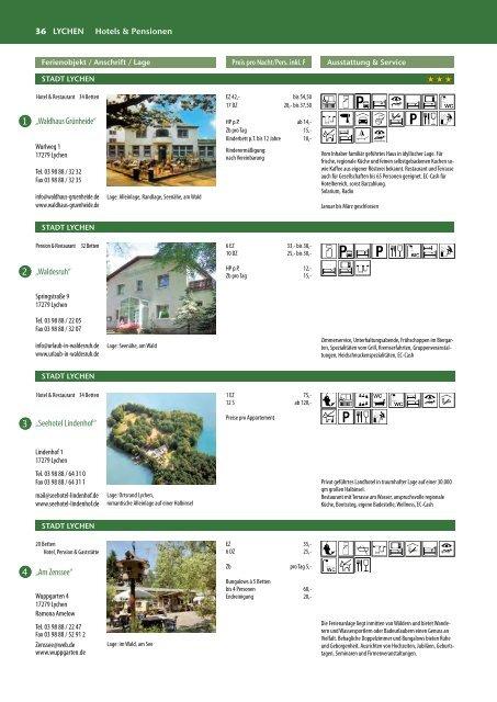 Gastgeberverzeichnis 2013 / Gastgeberliste (1,6 Mb) - Lychen