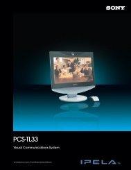 PCS-TL33 Brochure - Sony
