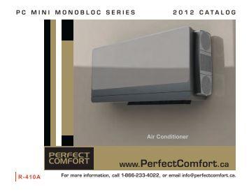 PC Mini Mono bloc Catalogue - Perfect Comfort