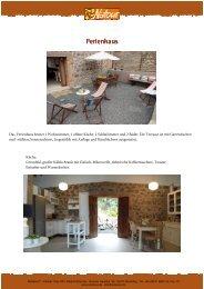 CAS Beschreibung Ferienhaus - ReNatour