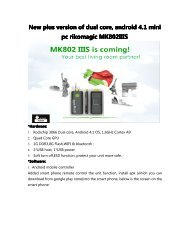 New plus version of dual core, android 4.1 mini pc ... - Everstuff