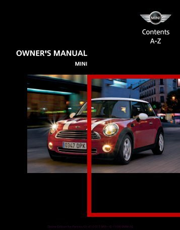 Owner's Manual - Redwood Empire Mini Enthusiasts