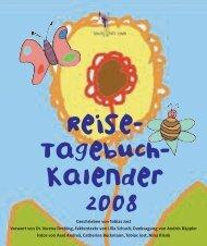 Reise- Tagebuch- Kalender 2008 - Schule fürs Leben