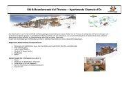 Ski & Boarderweek Val Thorens – Apartments ... - Pia und Dirk