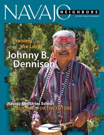 Johnny B. Dennison - Navajo Ministries