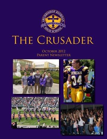 Oct 2012 - Archbishop Riordan High School