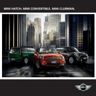 MINI Hatch Brochure - OSV Limited