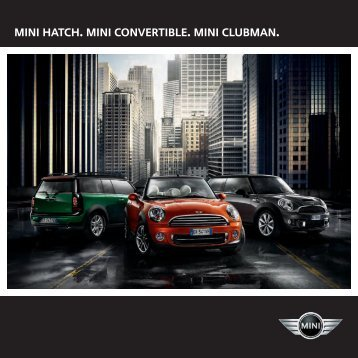 MINI Hatch Brochure - OSV Limited