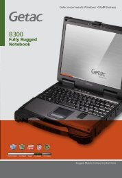 Fully Rugged Notebook - M Rugged Mobile Technology