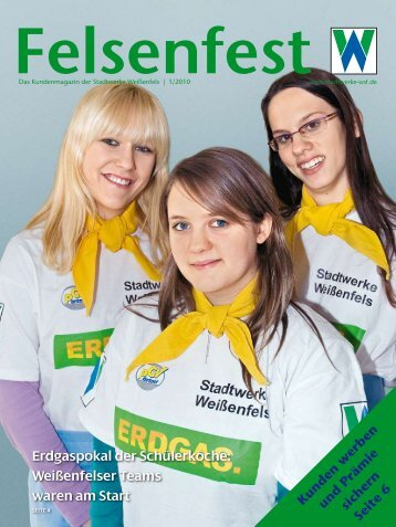 Gesamte Kundenzeitung - Stadtwerke Weißenfels
