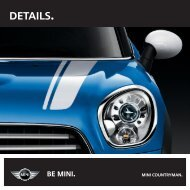MINI Countryman Brochure - OSV Limited