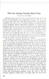 Über die Gattung Tracylla (Sacc.) Tassi.