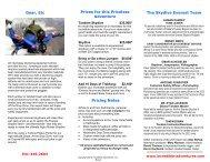 Skydive Everest 2013 - Incredible Adventures