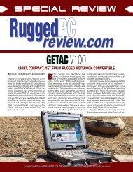 getac v100 - Rugged PC Review