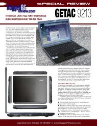 Getac 9213 - Rugged PC Review