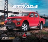 2.5-Liter 4D56 Direct Injection Diesel with Variable Geometry Turbo
