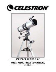 PowerSeeker 127 EQ Manual - Celestron