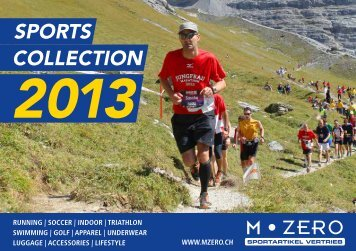 SportS ColleCtion - M-Zero AG