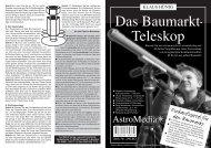Das Baumarkt- Teleskop - AstroMedia