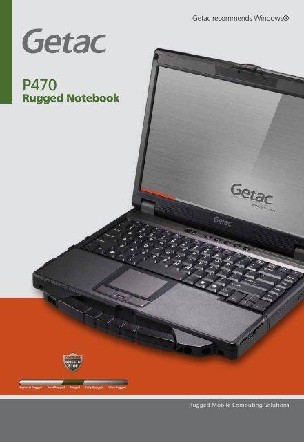 Rugged Notebook - Steatite Rugged
