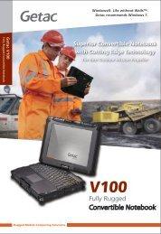 Convertible Notebook - Steatite Rugged Laptops