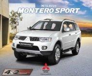 montero sport glx v - mitsubishi motors philippines corporation