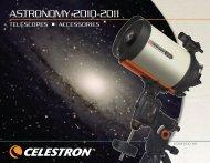 2009-10 Celestron Telescope Catalog